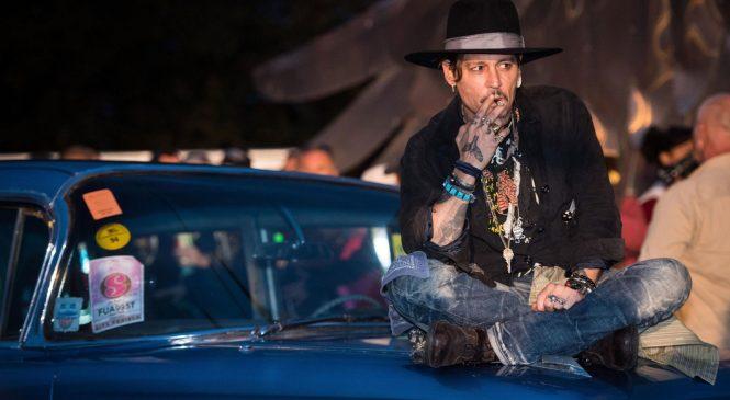 Depp jokes about assassinating President Trump