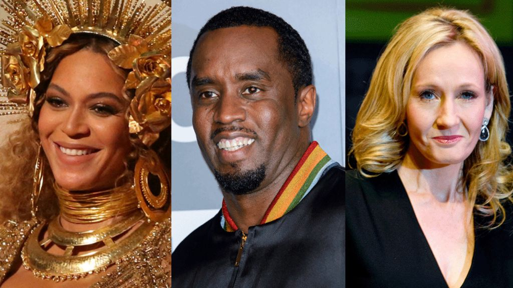 Which celebrities earned the most over the past year?