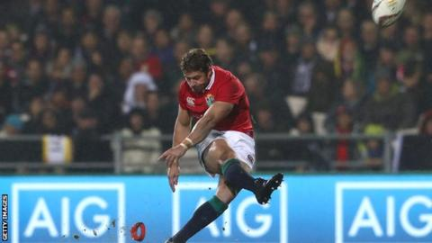 Lions seal convincing win over Maori All Blacks in wet conditions