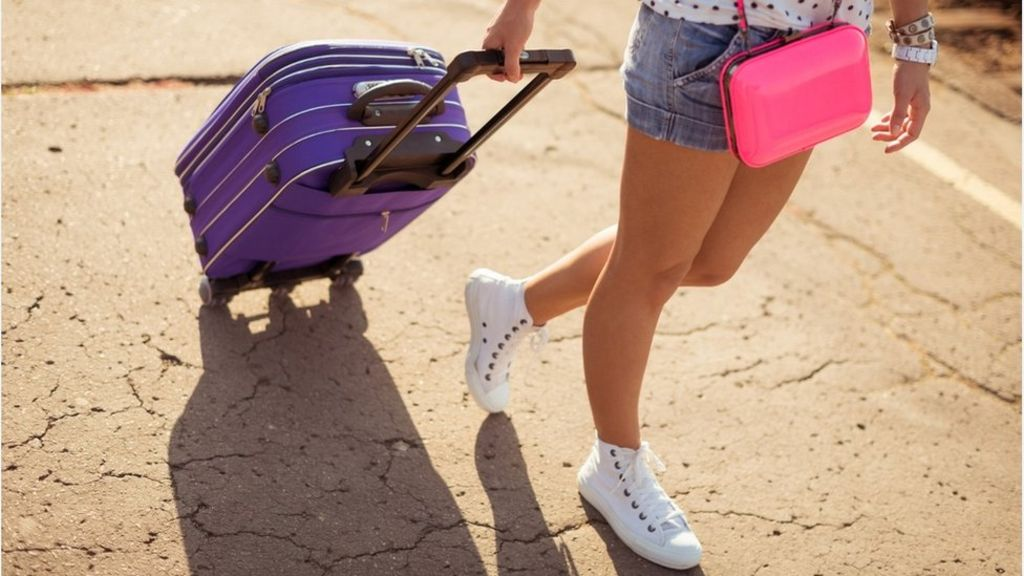 Why suitcases rock and fall over – puzzle solved