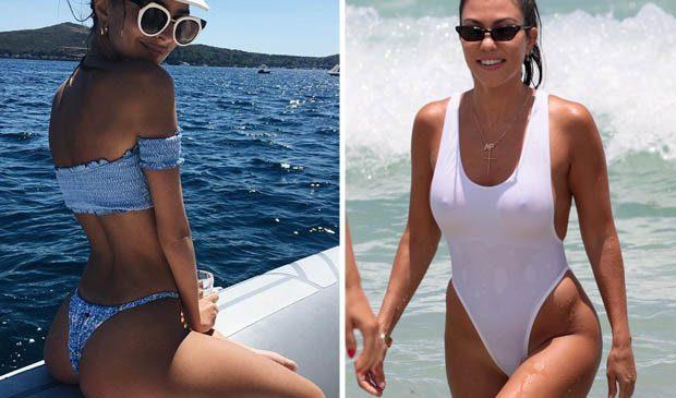 Celebs have fun in the sun as their flaunt their beach bodies