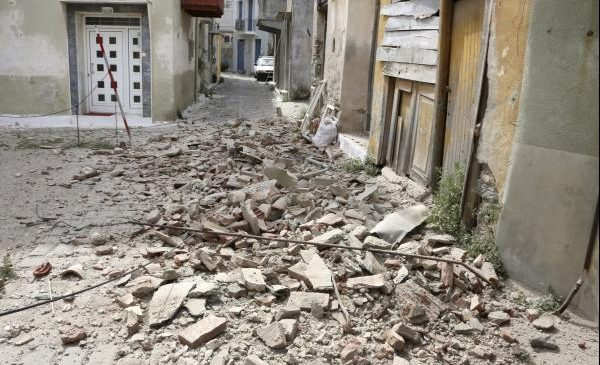 Magnitude-6.3 earthquake strikes eastern Turkey, Greek island