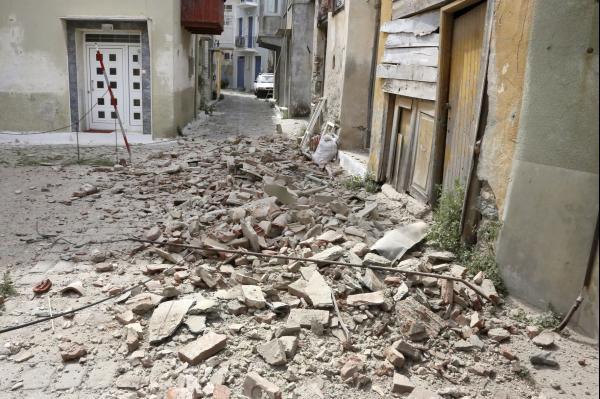 Magnitude-6.3 earthquake strikes eastern Turkey, Greek island
