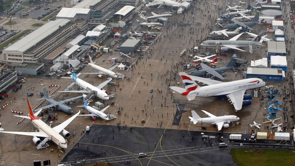 If it flies or hovers, it will be at the Paris Air Show