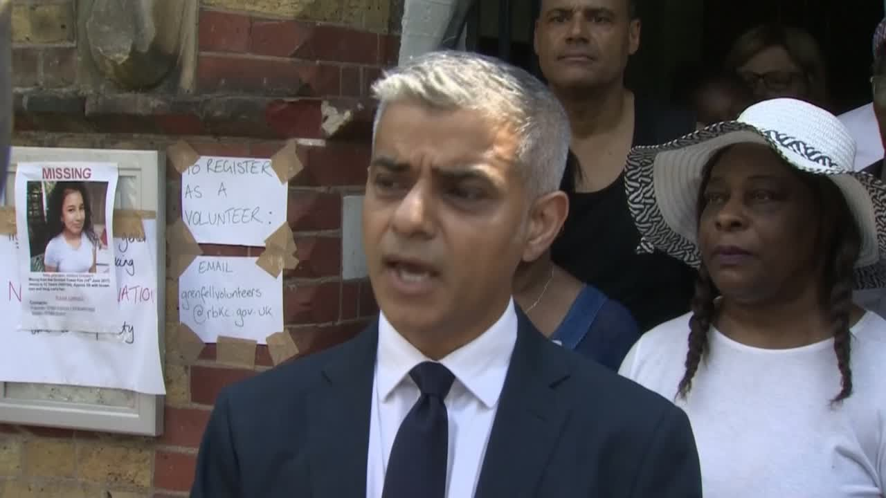 London mayor: Grenfell Tower fire 'preventable,' caused by official 'neglect'