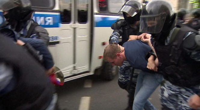 Russia protests: Opposition leader Alexei Navalny sentenced
