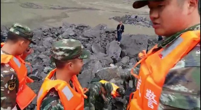China landslide leaves at least 140 missing in Sichuan
