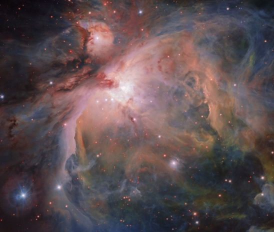 Baby stars discovered in Orion Nebula Cluster