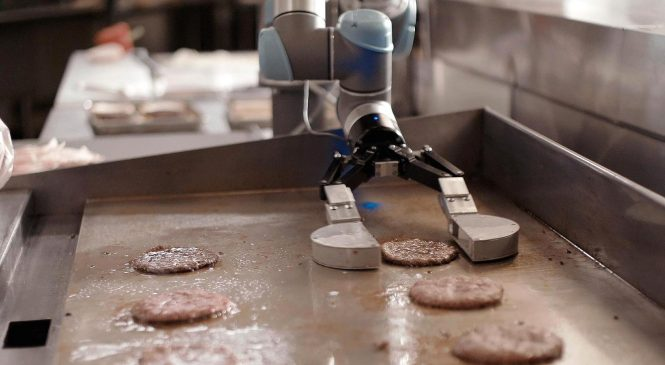 Robots are coming to a burger joint near you