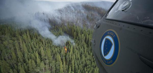 Climate change could mean more wildfires in Alaska, northwest Canada