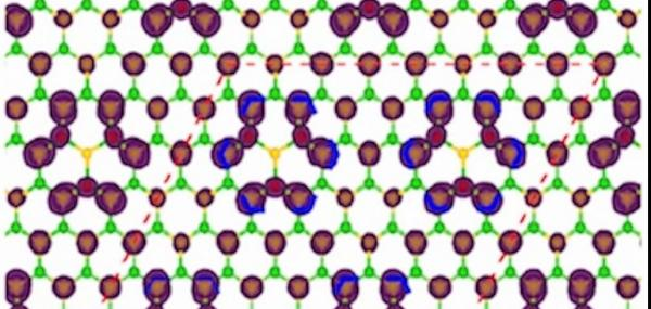 Fluorine lends white graphene new qualities