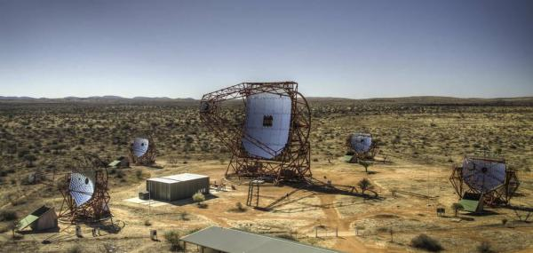 Gamma-ray telescopes locate high-energy trap in the middle of the Milky Way