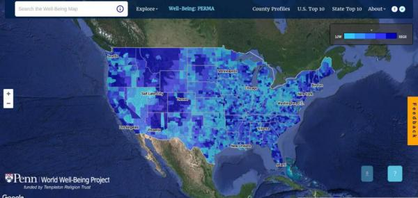 New map reveals personality traits of communities across the United States