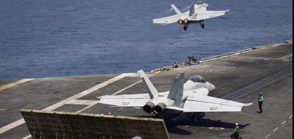 Nimitz carrier strike group joins Operation Inherent Resolve