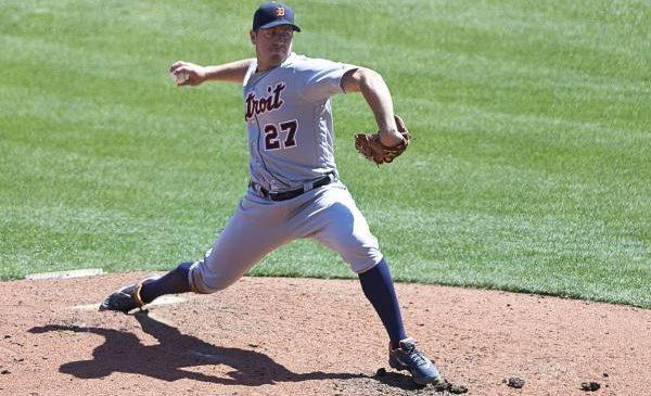 Strike-throwing Jordan Zimmermann pitches Detroit Tigers past Kansas City Royals