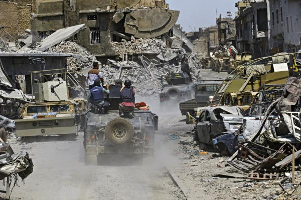 U.S. coalition guilty of war crimes in Mosul, says Amnesty report