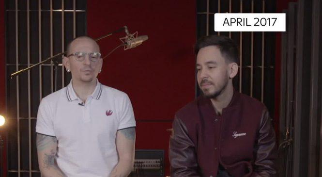 Linkin Park hearts 'broken' by singer's suicide