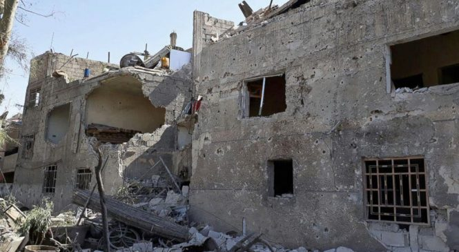 Syrian state TV: Car bombs rock capital, 8 killed