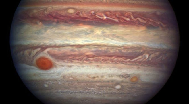 NASA to fly spacecraft over giant Jupiter storm