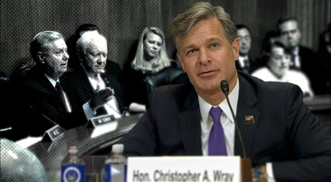 FBI nominee Christopher Wray says Russia probe not witch hunt