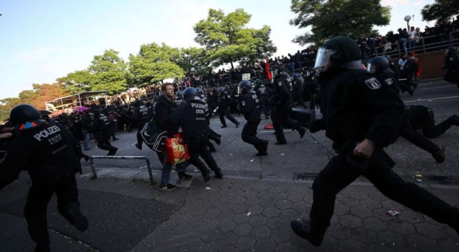 At least 76 police officers injured in G-20 protests in Germany