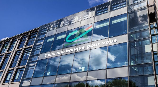 French bank Credit Agricole gets capital boost as profit climbs