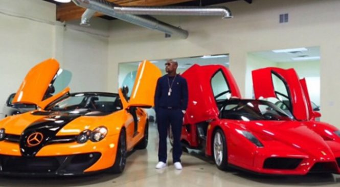 Floyd Mayweather deals with knockout BLOW by Simon Cowell over £2.3m supercar