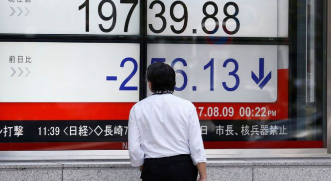 Global markets slip amid North Korea tension