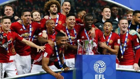 EFL Cup third-round draw: Holders Man Utd to host Burton Albion