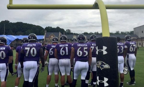 Baltimore Ravens rookie OG Nico Siragusa out for the season
