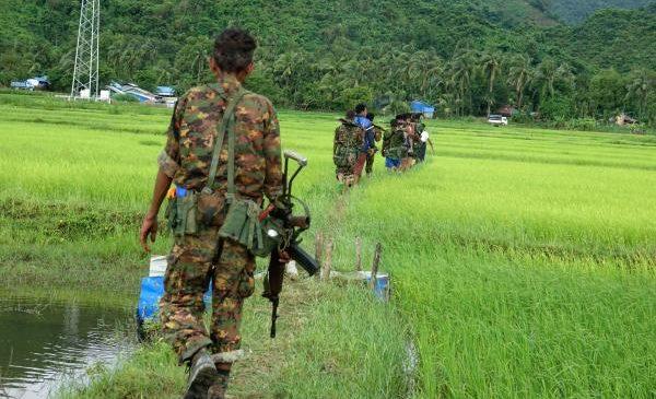 Rohingya raids on Myanmar forces leave dozens dead