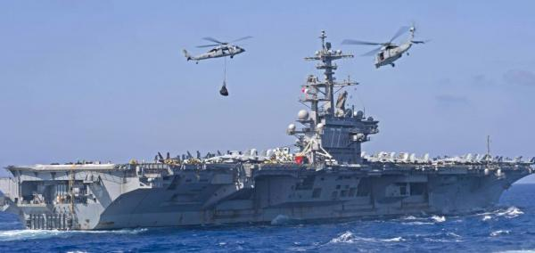 USS George H.W. Bush carrier strike group completes Saxon Warrior exercise