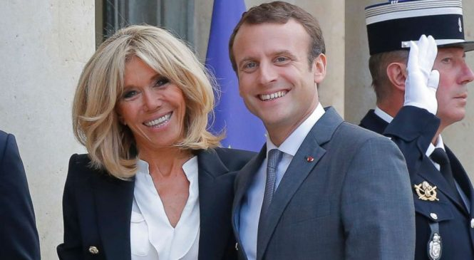 Macron's wife on 25-year age gap: 'We have breakfast together, me and my wrinkles'
