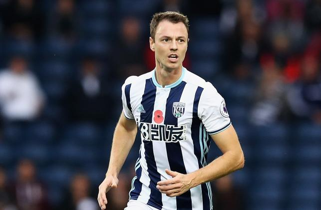 Transfer news: West Brom holding out for £30million for Jonny Evans after rejecting latest bid from Leicester City