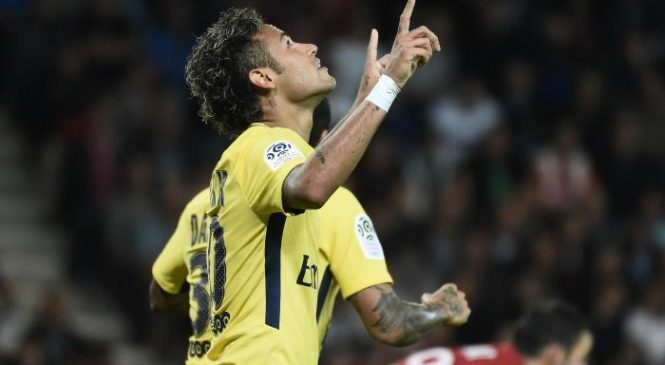 VIDEO: Neymar marks Paris Saint-Germain debut with a goal against Guingamp