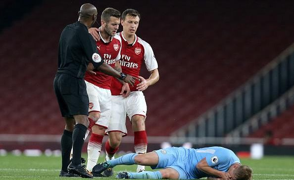 Arsenal FC news: Jack Wilshere sent off after mass brawl in Under-23s match