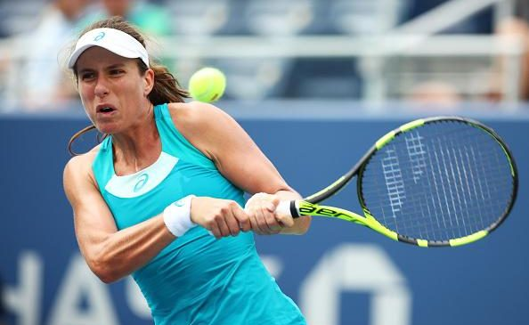 US Open: Johanna Konta and Heather Watson beaten, but Kyle Edmund beats Robin Hasse in straight sets