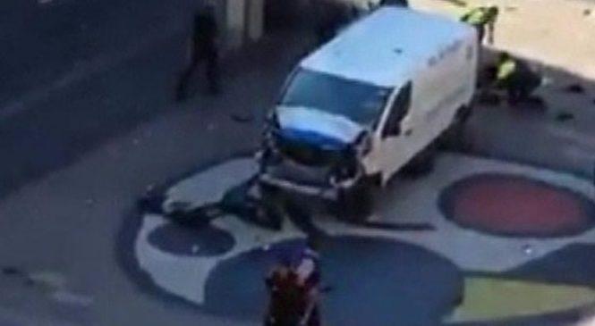 Barcelona: 13 killed as van rams crowds in Las Ramblas