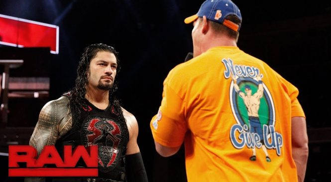 Raw results 28/8 – Cena drops some home truths & new champ crowned