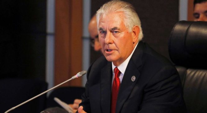 Tillerson doubles down as China takes new hard line on North Korea