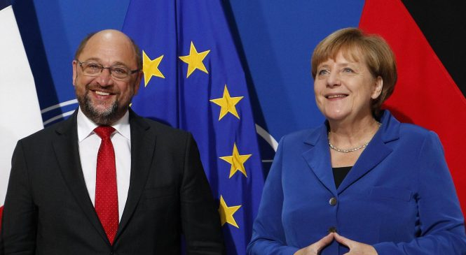 Merkel vs. Schulz: An American duel for German chancellor