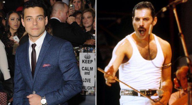 Rami Malek: First look at Mr Robot star as Freddie Mercury in Queen biopic