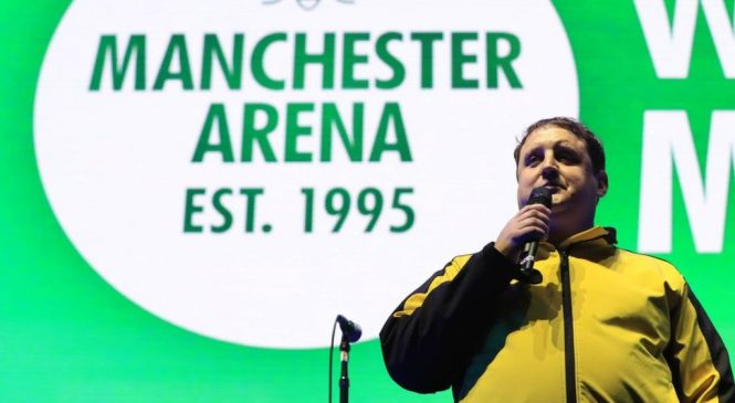 Manchester Arena: Peter Kay delivers defiant message at reopening concert