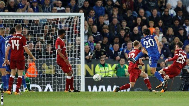 Wasteful Liverpool knocked out of Carabao Cup by Foxes