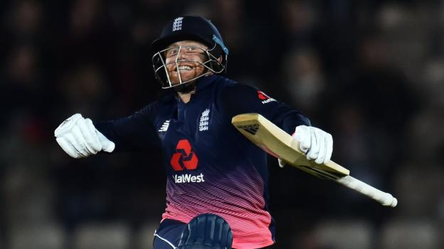 Bairstow's ton helps England to 4-0 series win – report & highlights