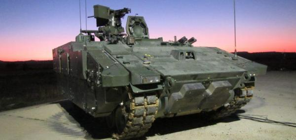 General Dynamics begins manned live-fire testing of AJAX armored vehicle