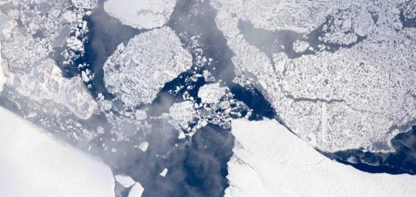 NASA maps summer melt of Greenland Ice Sheet