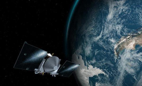 NASA'S OSIRIS-REx executes slingshot around Earth