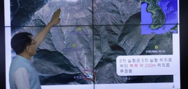 North Korea nuclear site shows 'disturbances,' landslides