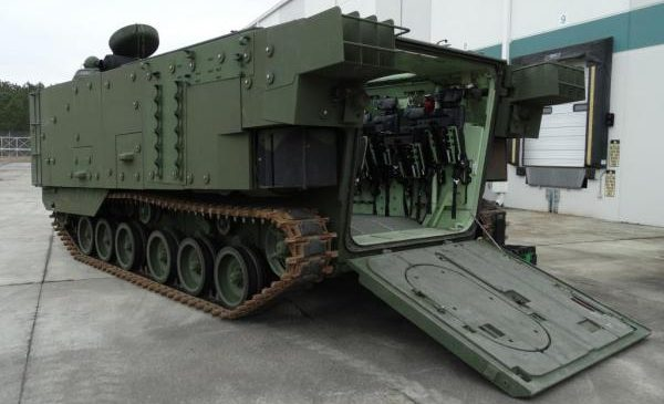 SAIC contract for upgraded Marine vehicles advances